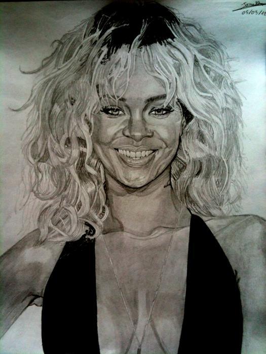 Rihanna by docjohn
